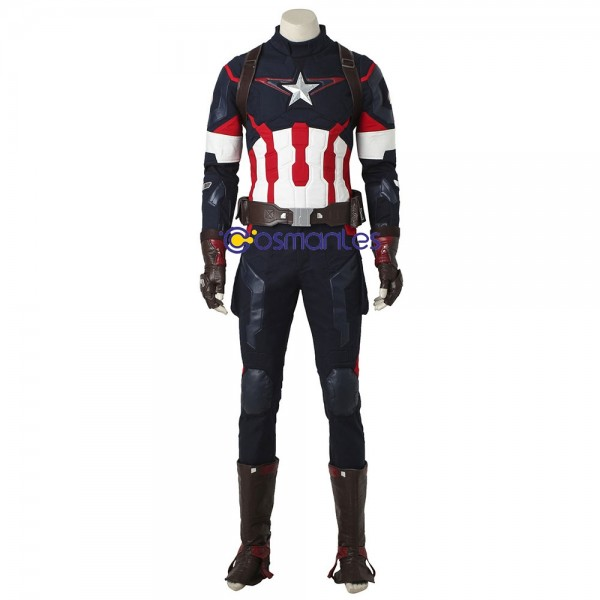 Age of Ultron Captain America Cosplay Costumes Captain America Suit