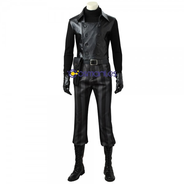 Spider-Man Noir Cosplay Costume Into the Spider-Verse Suit Wtj3952
