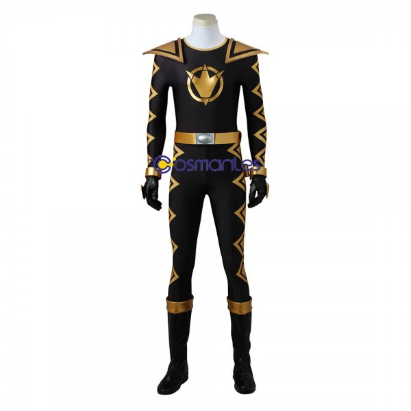 Dino Thunder Black Ranger Costume Power Rangers Black Cosplay Suit