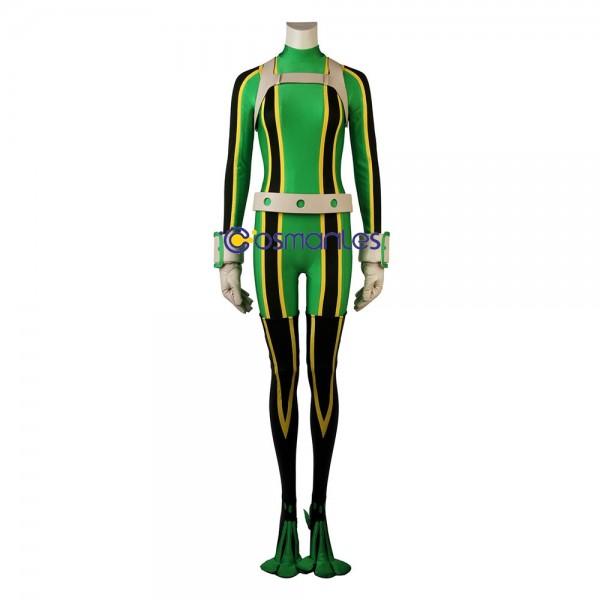 Tsuyu Asui Cosplay Costumes My Hero Academia Frog Suit
