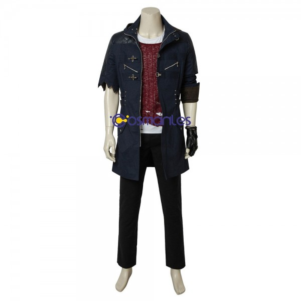 Nero Cosplay Costume Half Sleeve Edition Suit Devil May Cry 5