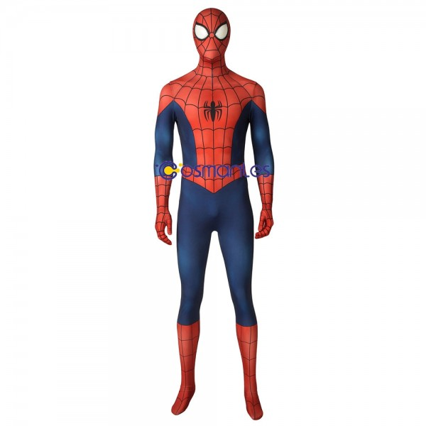 Spider-man Cosplay Suit Ultimate Spider-man Spandex Printed Cosplay Costume