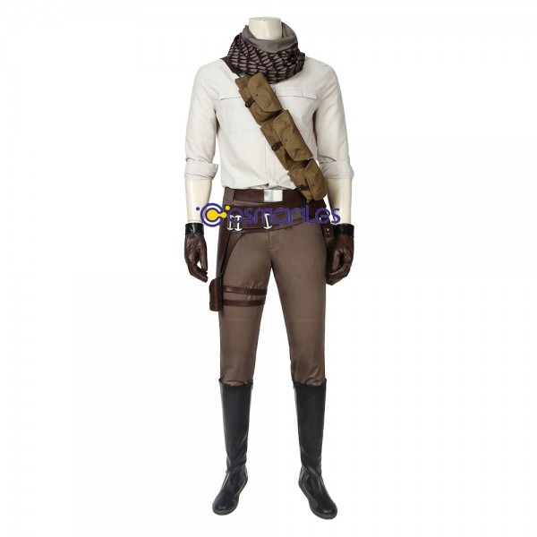 The Rise Of Skywalker Poe Dameron Cosplay Costume Deluxe