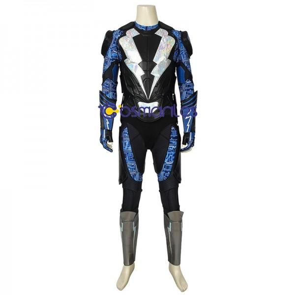 Black Lightning Suit Jefferson Pierce S2 Cosplay Outfits Wjt4461