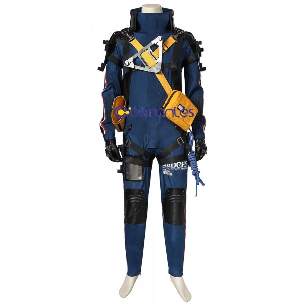 Sam Bridges Cosplay Costume Artificial Leather Top Level Suit