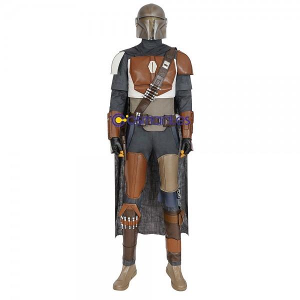 Mandalorian Cosplay Costume Star Wars Mandalorian Cosplay Suit Brown Edition