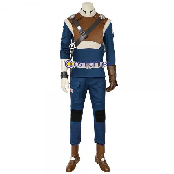 Cal Kestis Cosplay Costume Star Wars Jedi Fallen Order Cal Cosplay Suit Wt4583