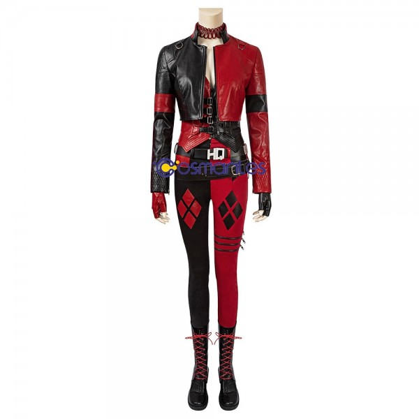 The New Harley Quinn Cosplay Costumes The Suicide Squad 2 Cosplay Suit
