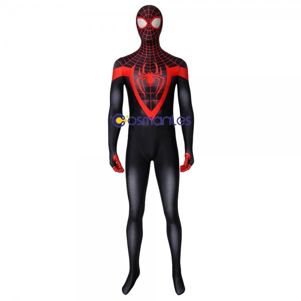 Ultimate Spider-man Suit Spider Man Miles Morales Cosplay Costumes
