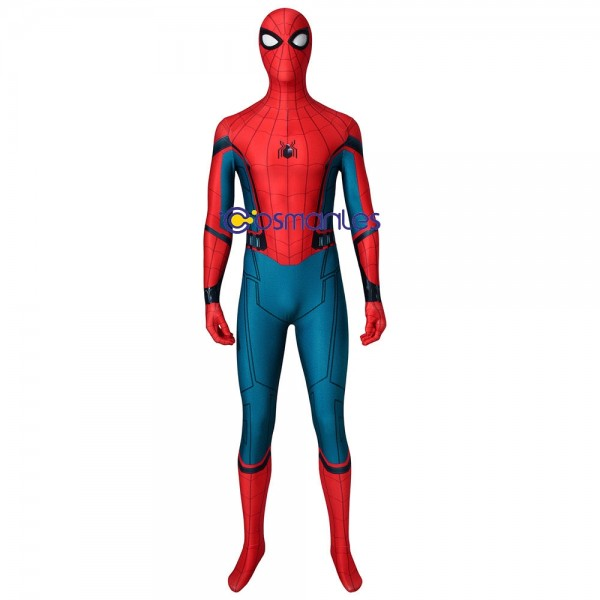 Homecoming Peter Parker Spider-man Cosplay Costume Spandex Suits