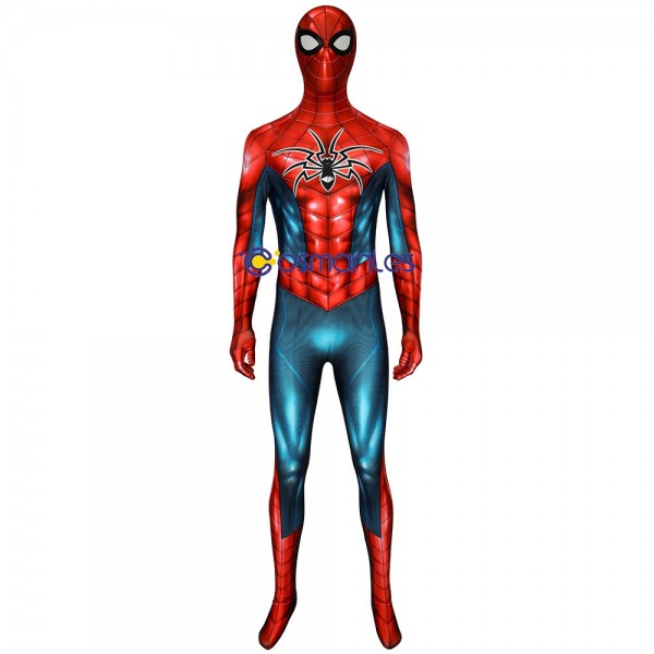 Spider-Armor MK IV Cosplay Costume Spandex Printed Spider man Cosplay Suit
