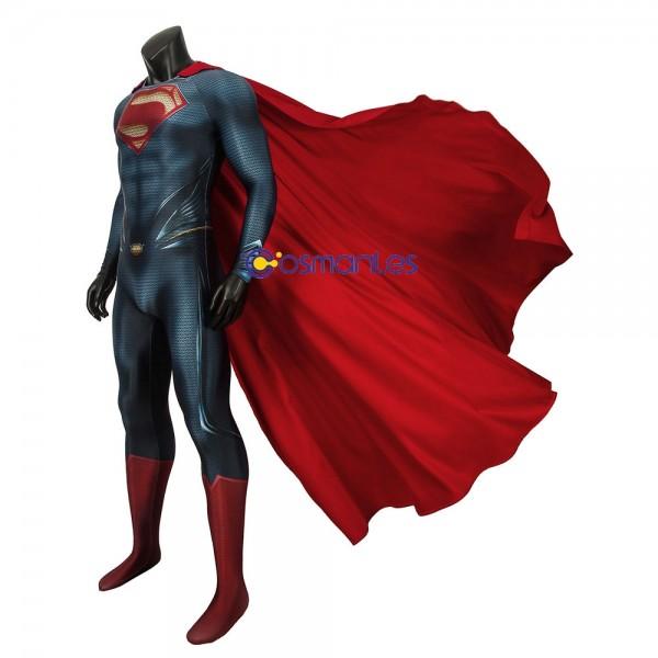 SuperMan Suit Man of Steel Clark Kent Cosplay Suit Wtj4300