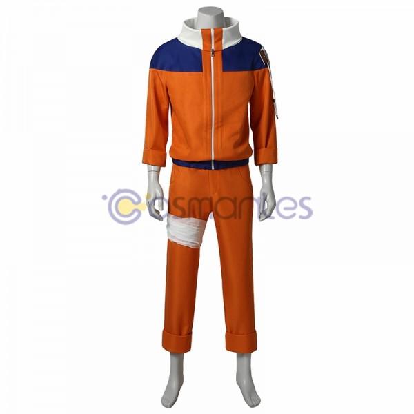 Naruto Cosplay Costumes Naruto Orange Cotton Suit
