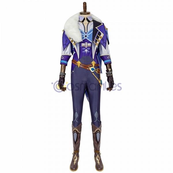 Kaeya Cosplay Costumes Genshin Impact Suit