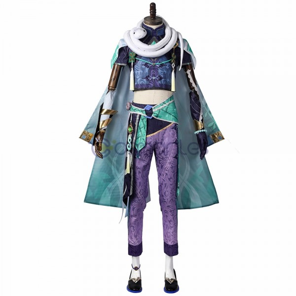 Bazhu Cosplay Costumes Genshin Impact Suit