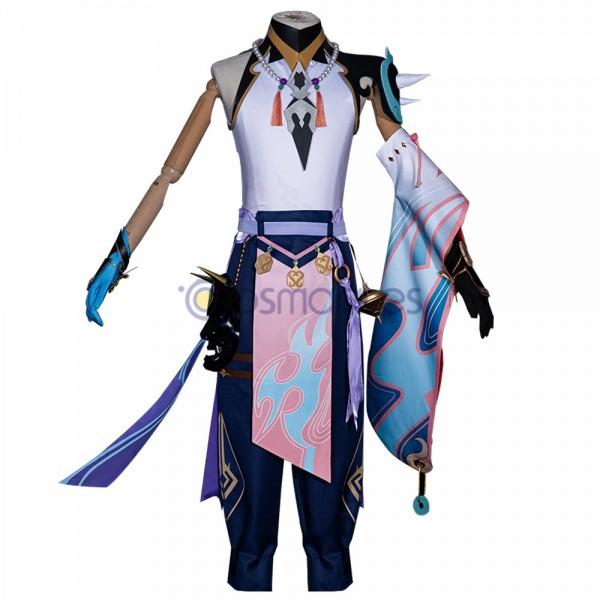 Genshin Impact Cosplay Costumes Xiao Top Level Cosplay Suit