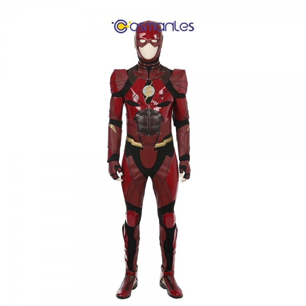 The Flash Cosplay Costume Justice League Cosplay Deluxe Edition