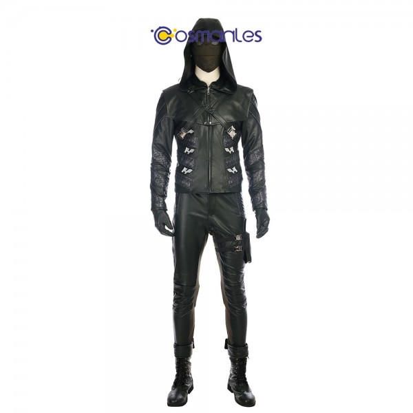 Prometheus Cosplay Costume Arrow Season 5 Quentin Lance Cosplay