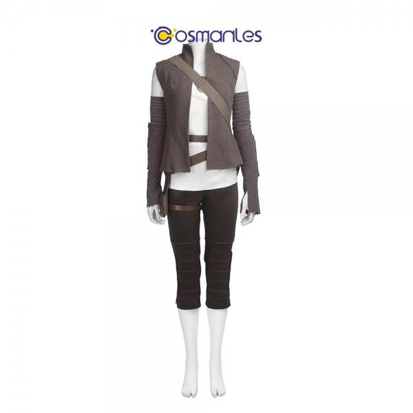 Rey Cosplay Costume Star Wars 8 The Last Jedi Cosplay xzw1800106