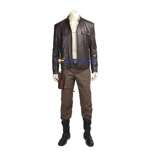 Poe Dameron Cosplay Costume Star Wars 8 The Last Jedi Costume