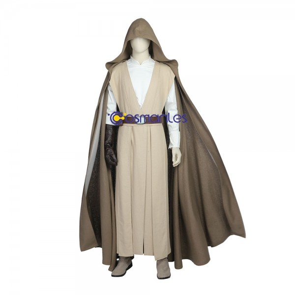 Luke Skywalker Cosplay Costume Star Wars 8 The Last Jedi Costumes