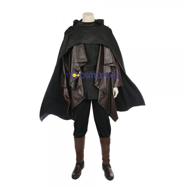 Luke Skywalker Costume Star Wars The Last Jedi Black Costumes