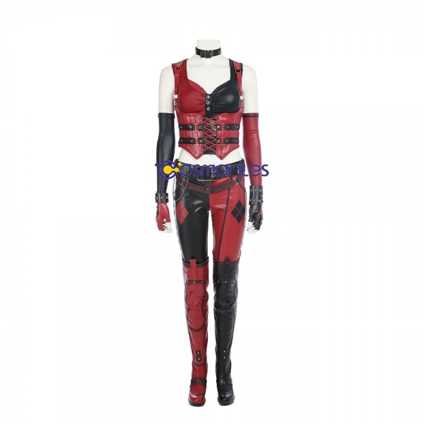 Harley Quinn Cosplay Costume BatMan Arkham City Costume xzw1800139