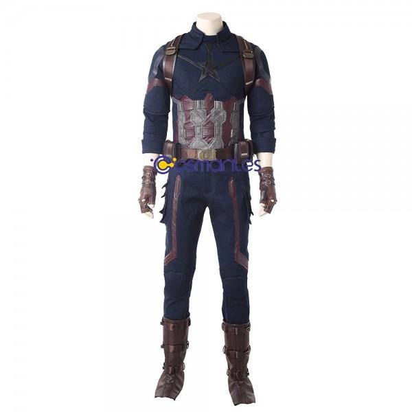 Captain America Cosplay Costume Avengers Infinity War Costumes