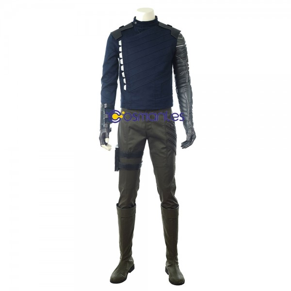 The Winter Soldier Cosplay Costume Bucky Barnes Outfit xzw1800152