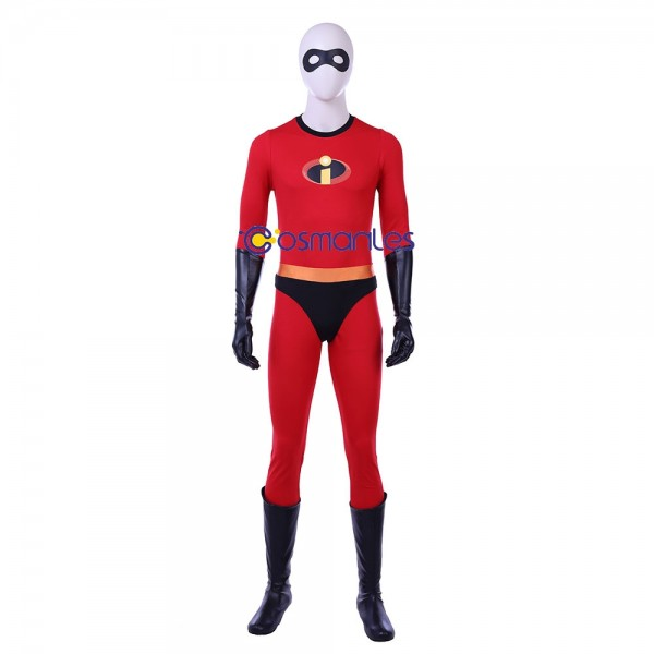 Mr.Incredible Bob Parr Cosplay Costume The Incredibles Edition