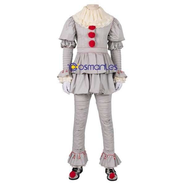 Pennywise Cosplay Suit IT Chapter Two Costume Xzw190302