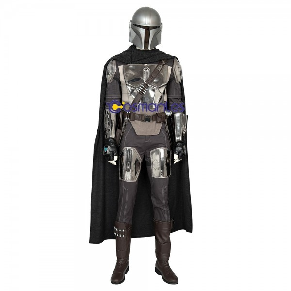 The Mandalorian Star Wars Cosplay Costumes Artificial Leather Suits