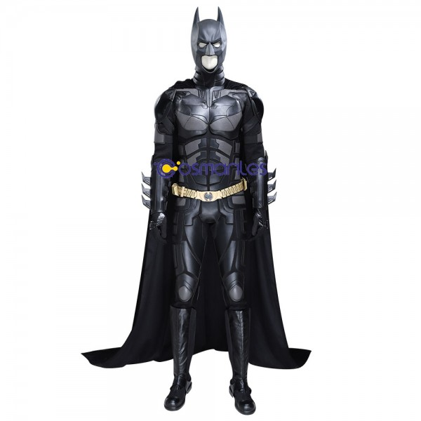 The Dark Knight Rises Batman Cosplay Costumes Artificial Leather Suit Edition