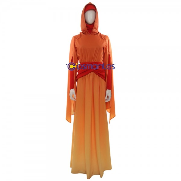 Star Wars Queen Padme Amidala Cosplay Costume Deluxe Edition