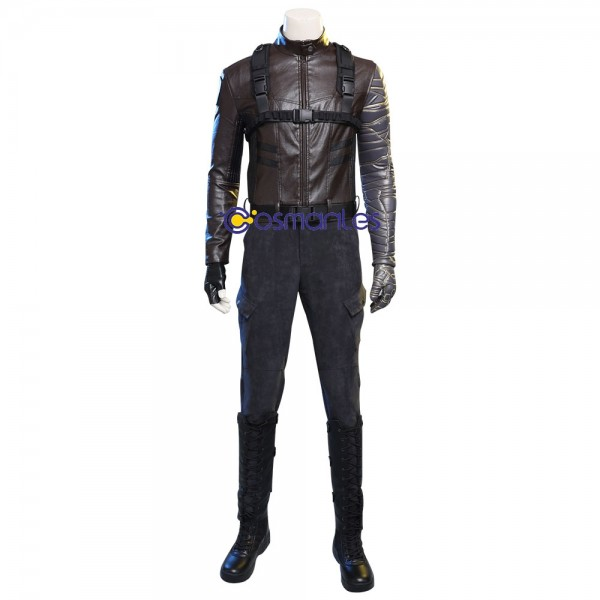 Winter Soldier Suit 2020 New Winter Soldier Bucky Barnes Cosplay Costume