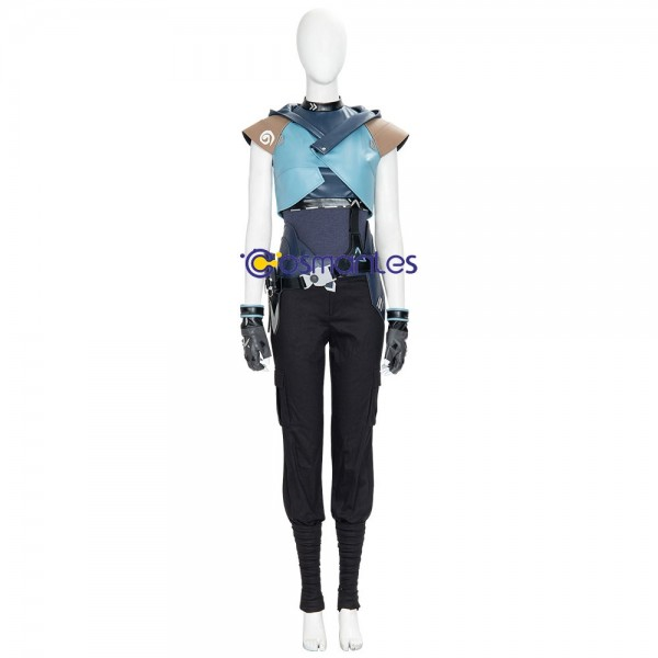 Jett Cosplay Costumes Artificial Leather Cosplay Suit