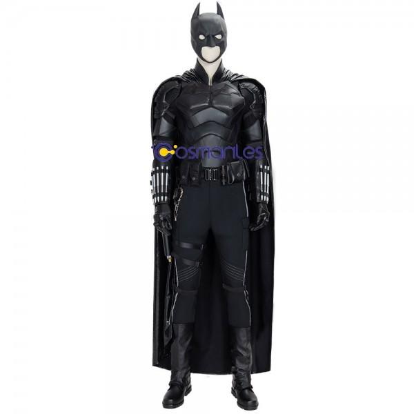 Batman Ver.1 Cosplay Costumes Artificial Leather Batman Cosplay Suit