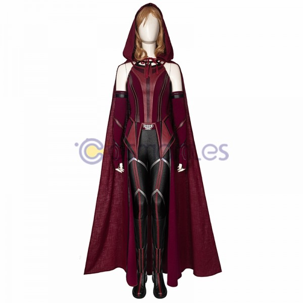 WandaVision New Scarlet Witch Cosplay Costume Wanda Suits