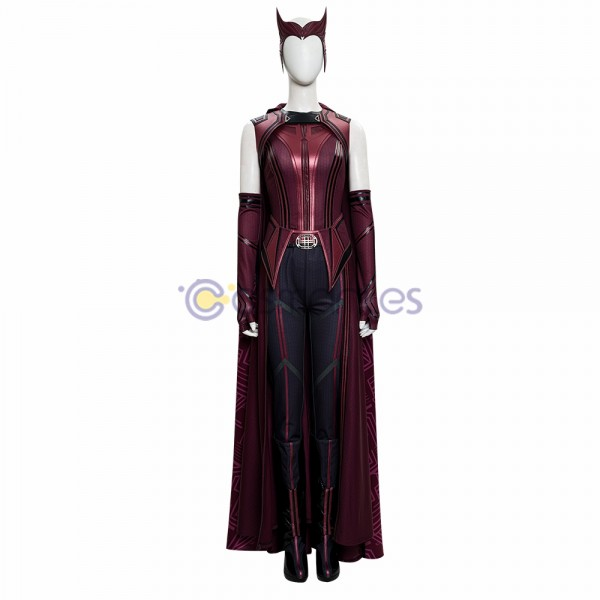 WandaVision 2021 Cosplay Costumes Wanda New Top Level Cosplay Suit