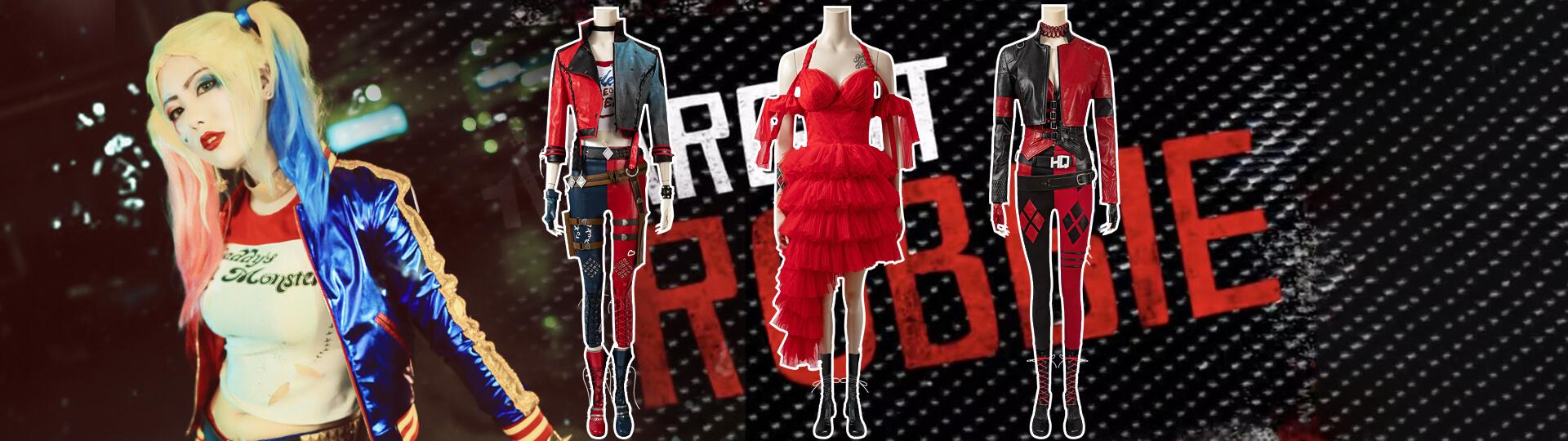 cosmanles harley quinn cosplay costumes
